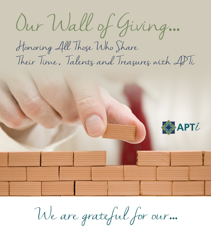 Wall of Giving Graphic